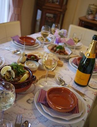 ポルトガル料理で毎日 乾杯♪ _d0041729_22555263.jpg