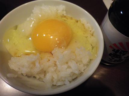 卵かけご飯頂きました。_a0139242_5273776.jpg