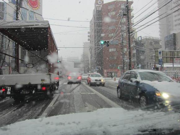 雪だ(^O^)_b0219170_11542350.jpg