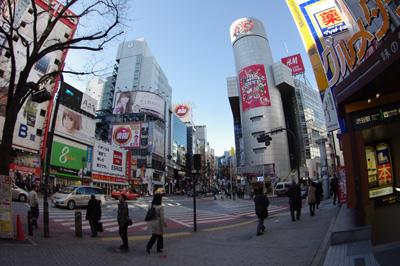 1月18日(金)の渋谷109前交差点_b0056983_1172591.jpg