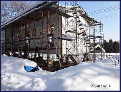 *店舗デザイン* ミモザガーデンカフェさん 雪です_c0207890_1364412.jpg