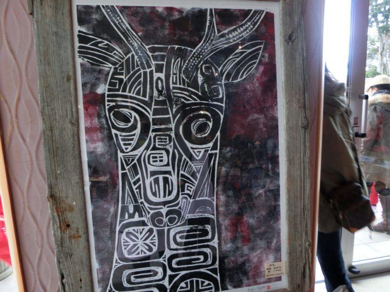 若手アーティストクラフト展「伊豆互展」へ園外保育に行ってきました!_b0188106_21504981.jpg