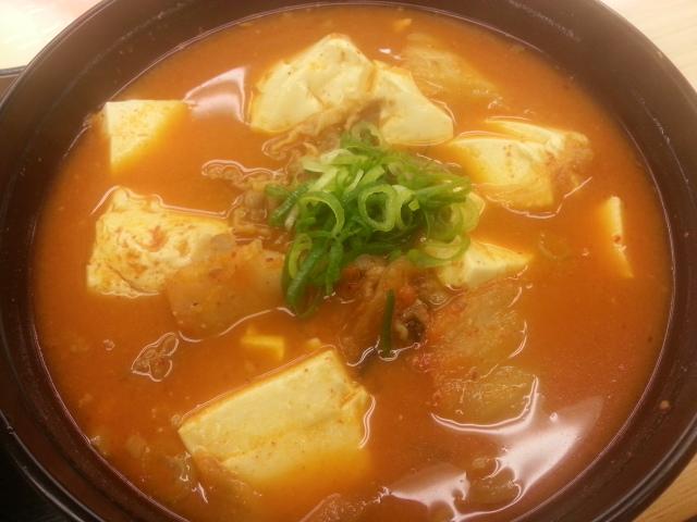豆腐キムチチゲセット¥490@松屋_b0042308_15163995.jpg