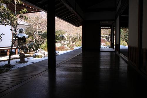 鷹ヶ峰 源光庵雪景色_e0048413_2195992.jpg
