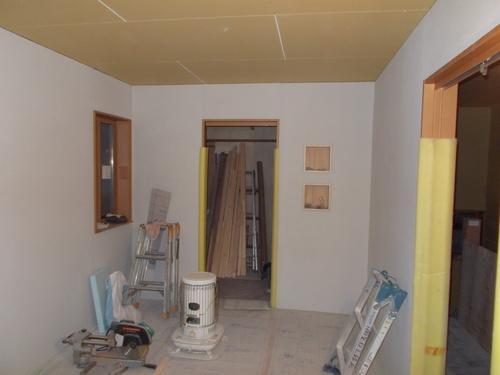 大町K邸新築工事 進行状況_c0218716_1734821.jpg