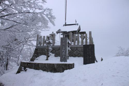 霧氷の高見山  1248m 奈良県_d0055236_11274593.jpg