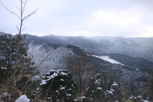 霧氷の高見山  1248m 奈良県_d0055236_11361024.jpg