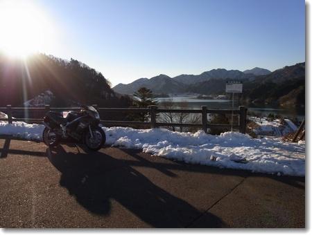 雪景色の宮ヶ瀬 2013.01.19_c0147448_20364533.jpg