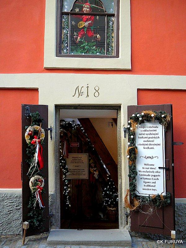 プラハ 4 プラハ城 黄金の小路_a0092659_1318823.jpg