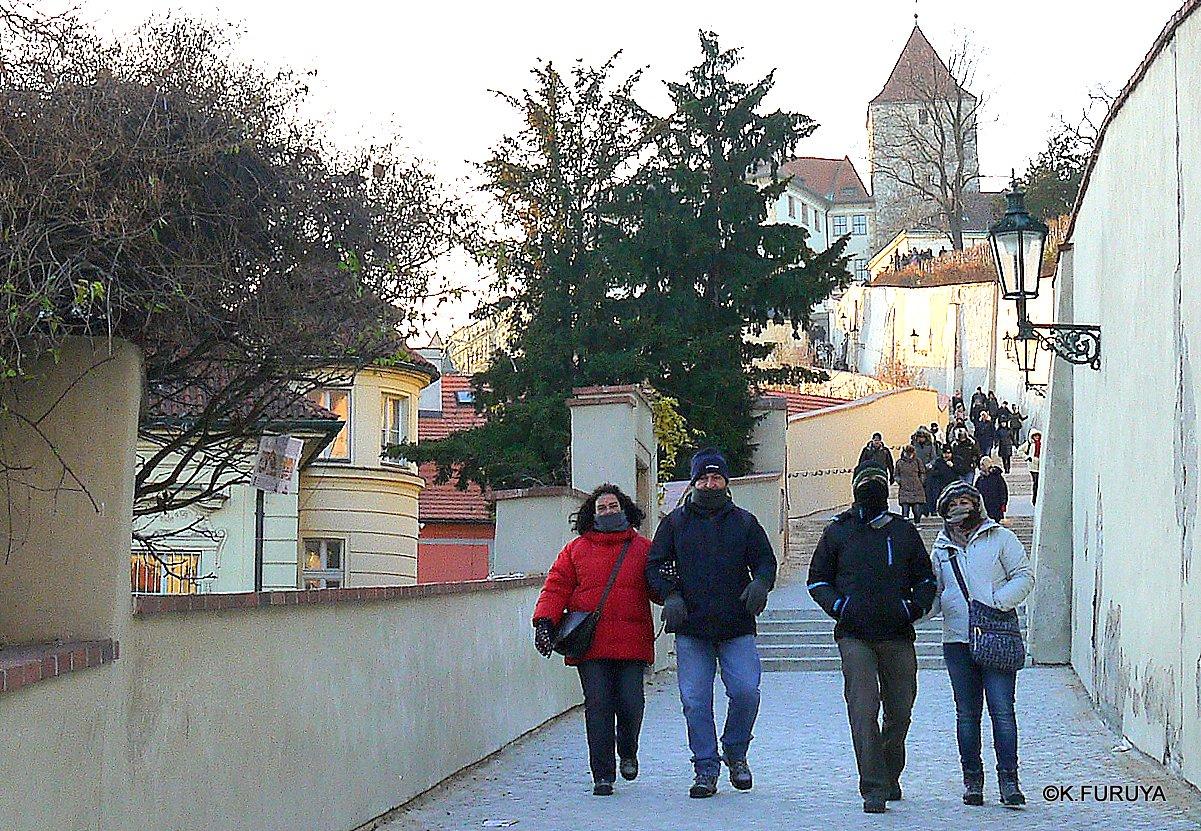 プラハ 4 プラハ城 黄金の小路_a0092659_1574029.jpg