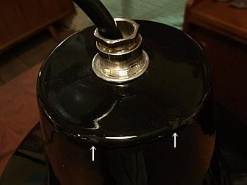 rouis poulsen enamel lamp_c0139773_18502996.jpg