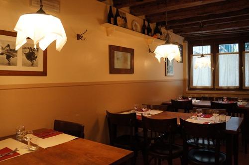 ヴェネツィア料理、レバーの玉ねぎ風味~La Bottega ai Promessi Sposi_f0106597_20473014.jpg