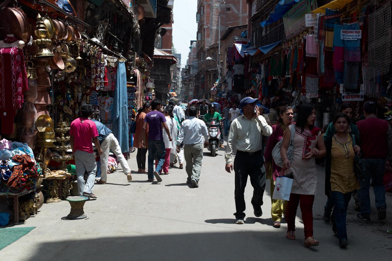 Kathmandu Durbar Square近辺にて_c0116732_839478.jpg