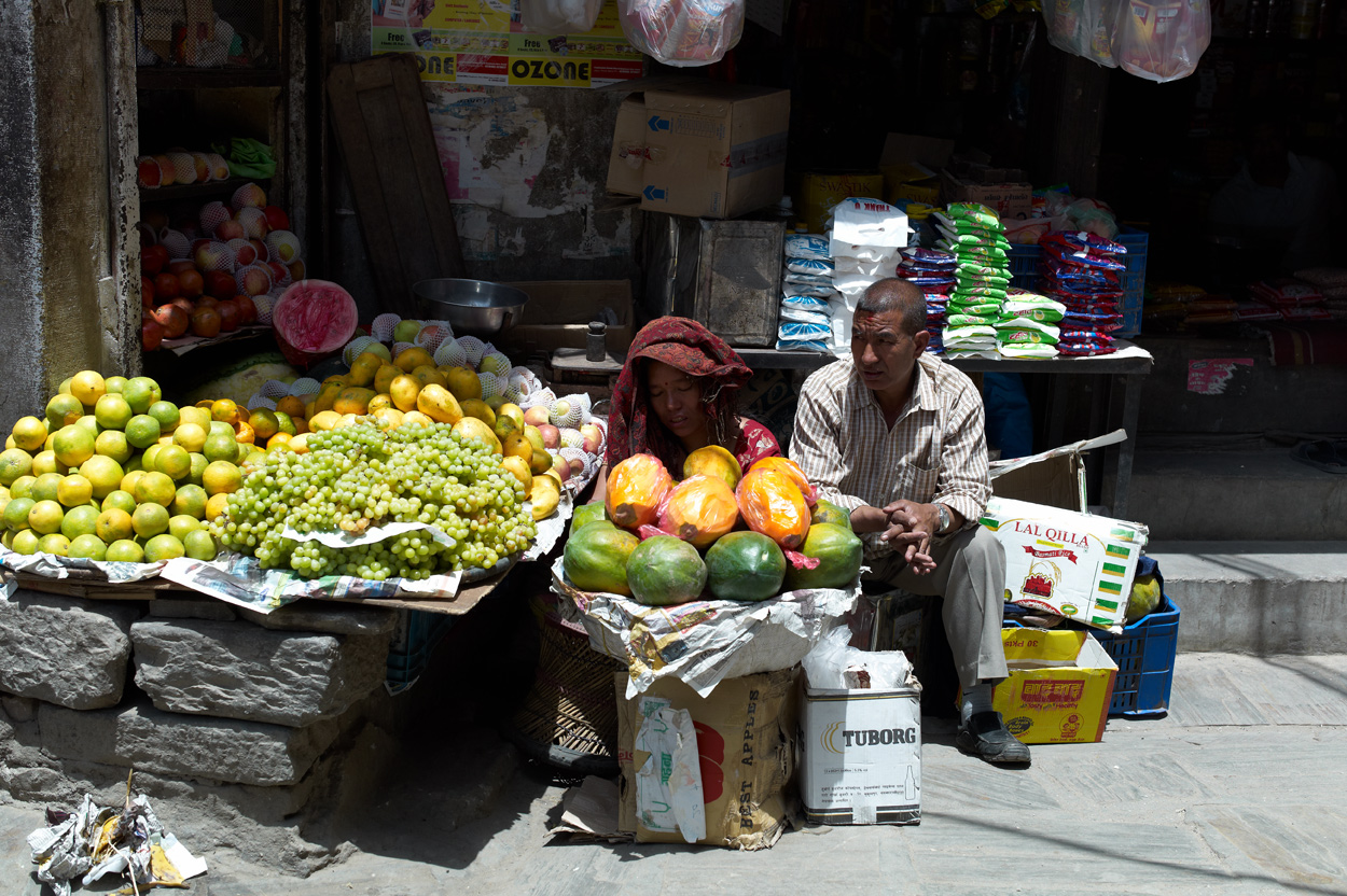 Kathmandu Durbar Square近辺にて_c0116732_840478.jpg