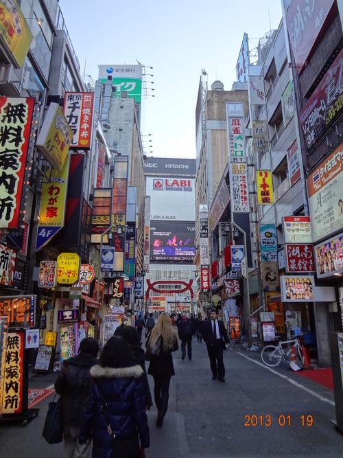 1月の行事(新年会、新宿駅周辺を歩く、シルバー、ウォーキング・グルメ会)_e0223735_1635596.jpg
