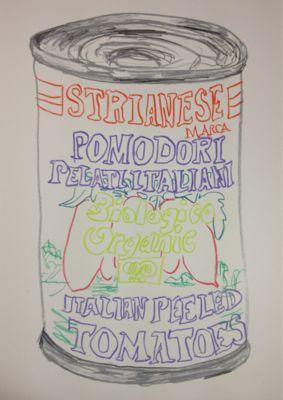 pomodoro トマトの缶詰_c0184640_2541477.jpg