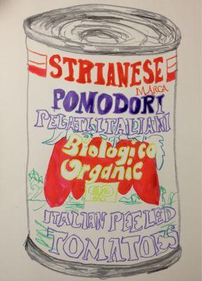 pomodoro トマトの缶詰_c0184640_2541514.jpg