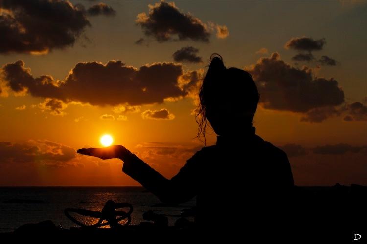 太陽すら手玉に取るオンナ@みなべ・田辺_e0158261_11847100.jpg