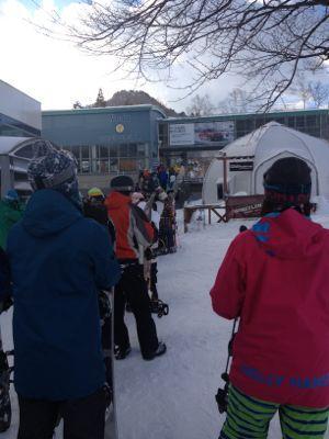 苗場スキー場の土曜日!_c0151965_2085295.jpg