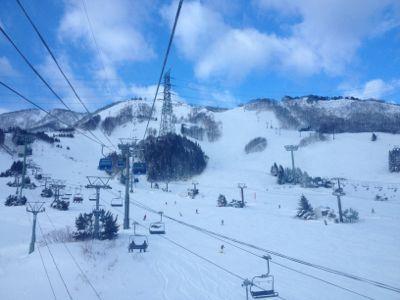 苗場スキー場の土曜日!_c0151965_2085446.jpg