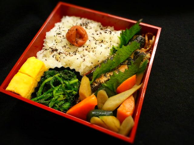 【midori-bentoさんのお弁当】イワシの生姜煮弁当
