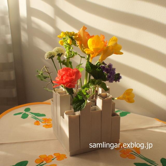 ミニ花瓶 - ベルギー作家もの_f0237712_23331563.jpg
