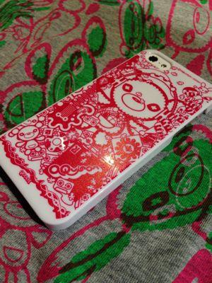 熊ちゃんのiPhoneケース作ってまーすー。_f0196753_17554436.jpg