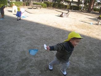 くま組 凧作りと凧揚げ_c0151262_16341070.jpg