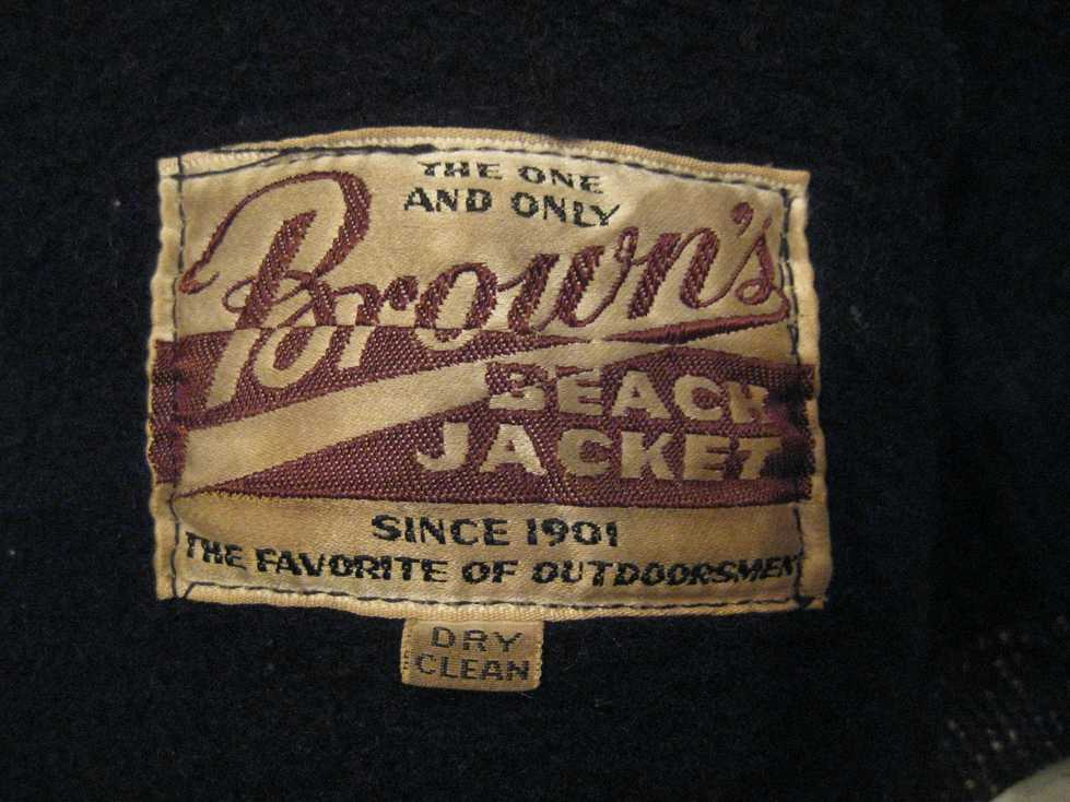 VINTAGE BROWN\'S BEACH JACKET_e0187362_1156284.jpg