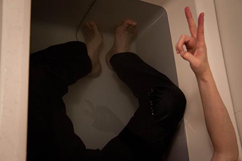 ジーンズを履いて風呂に浸かる。_a0281778_1143125.jpg
