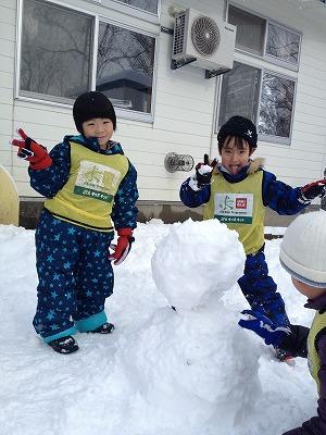2012.12.20  金足西幼児園_e0272194_1632052.jpg