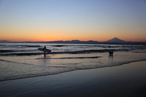 初泳ぎ2(江ノ島)_b0275998_911061.jpg