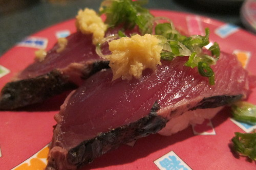 パリセイドモールの回転寿司で、牡蠣めっけ♪_d0240098_11501527.jpg