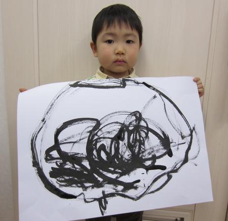 水墨画☆松井山手教室_f0215199_1047562.jpg