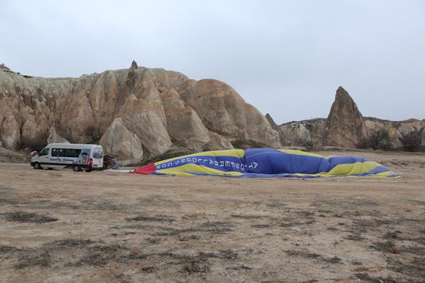 トルコ旅行   気球に乗った☆_e0154202_21564345.jpg