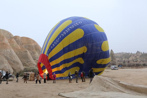 トルコ旅行   気球に乗った☆_e0154202_2156562.jpg