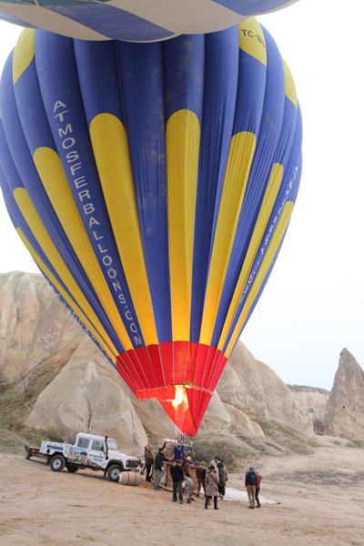 トルコ旅行   気球に乗った☆_e0154202_21572541.jpg