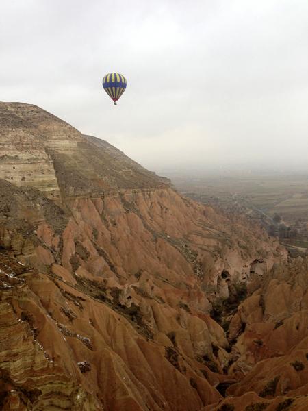 トルコ旅行   気球に乗った☆_e0154202_2244320.jpg