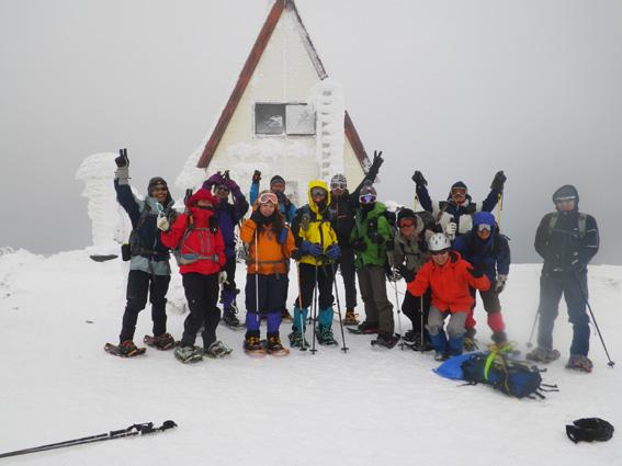 2013.01.20(日) スノシューハイキング氷ノ山_a0062810_10163623.jpg