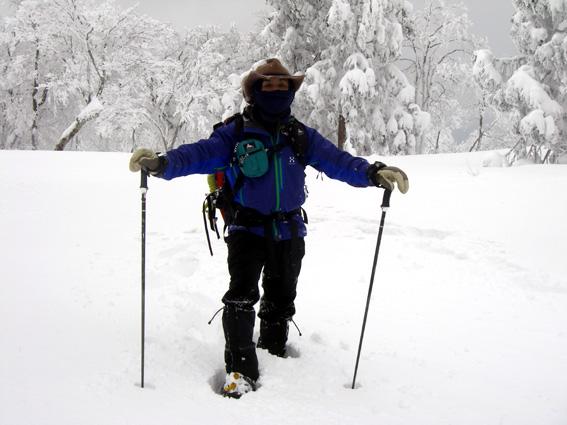 2013.01.20(日) スノシューハイキング氷ノ山_a0062810_10171716.jpg