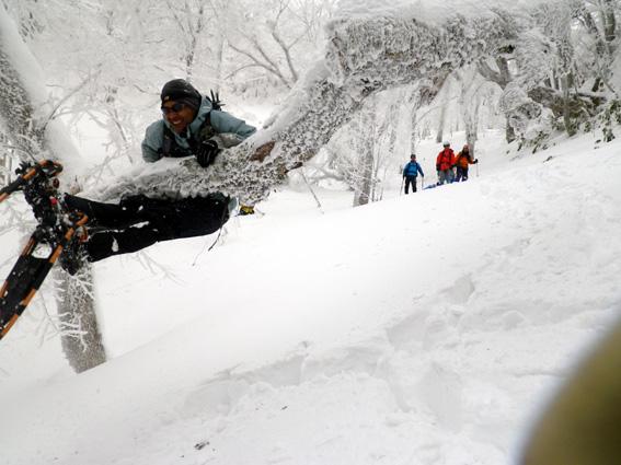 2013.01.20(日) スノシューハイキング氷ノ山_a0062810_1021476.jpg