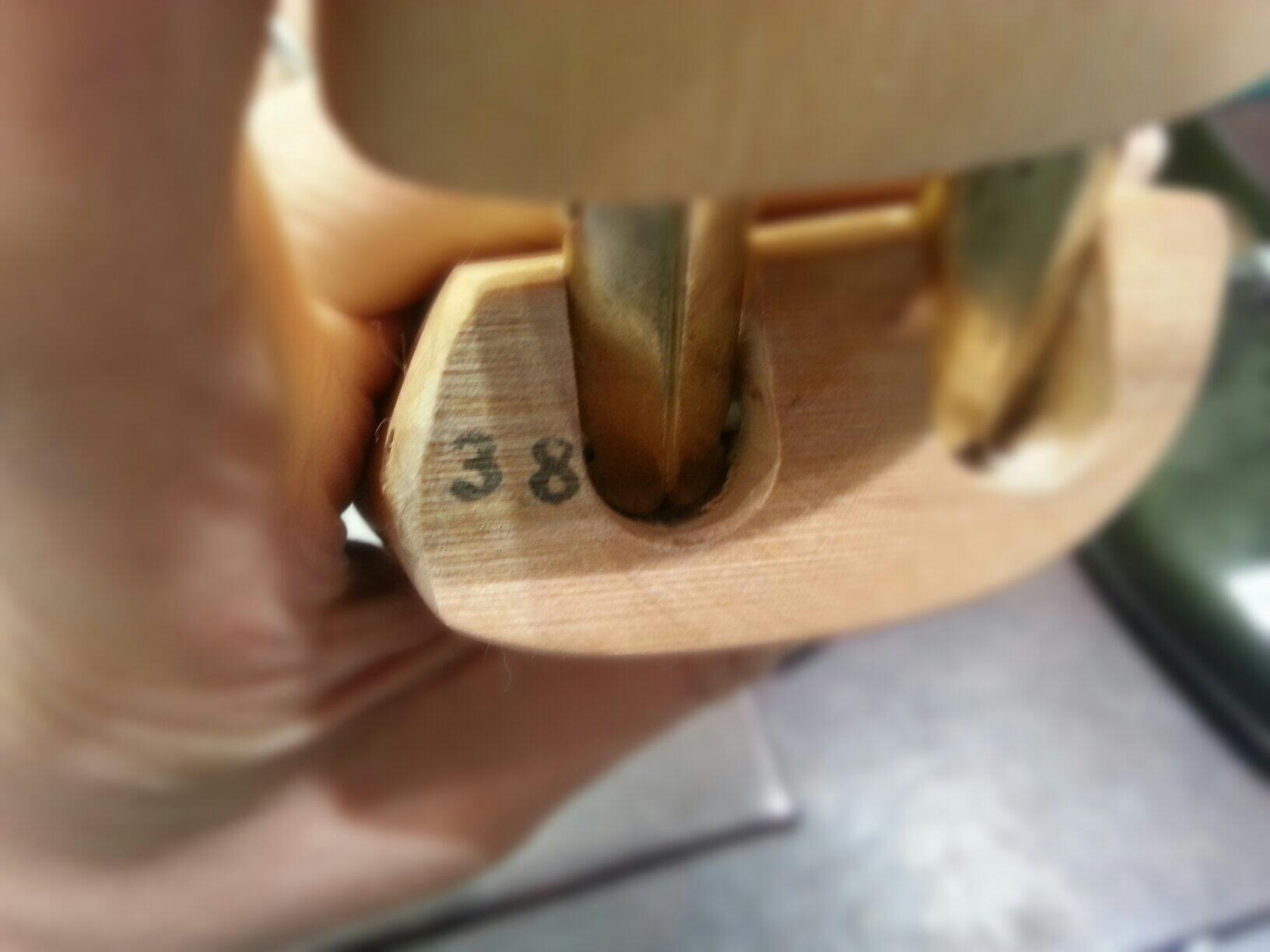 新シューツリーサルトレカミエフィッティング検証第12弾~オリーブの英国~_b0226322_14163611.jpg