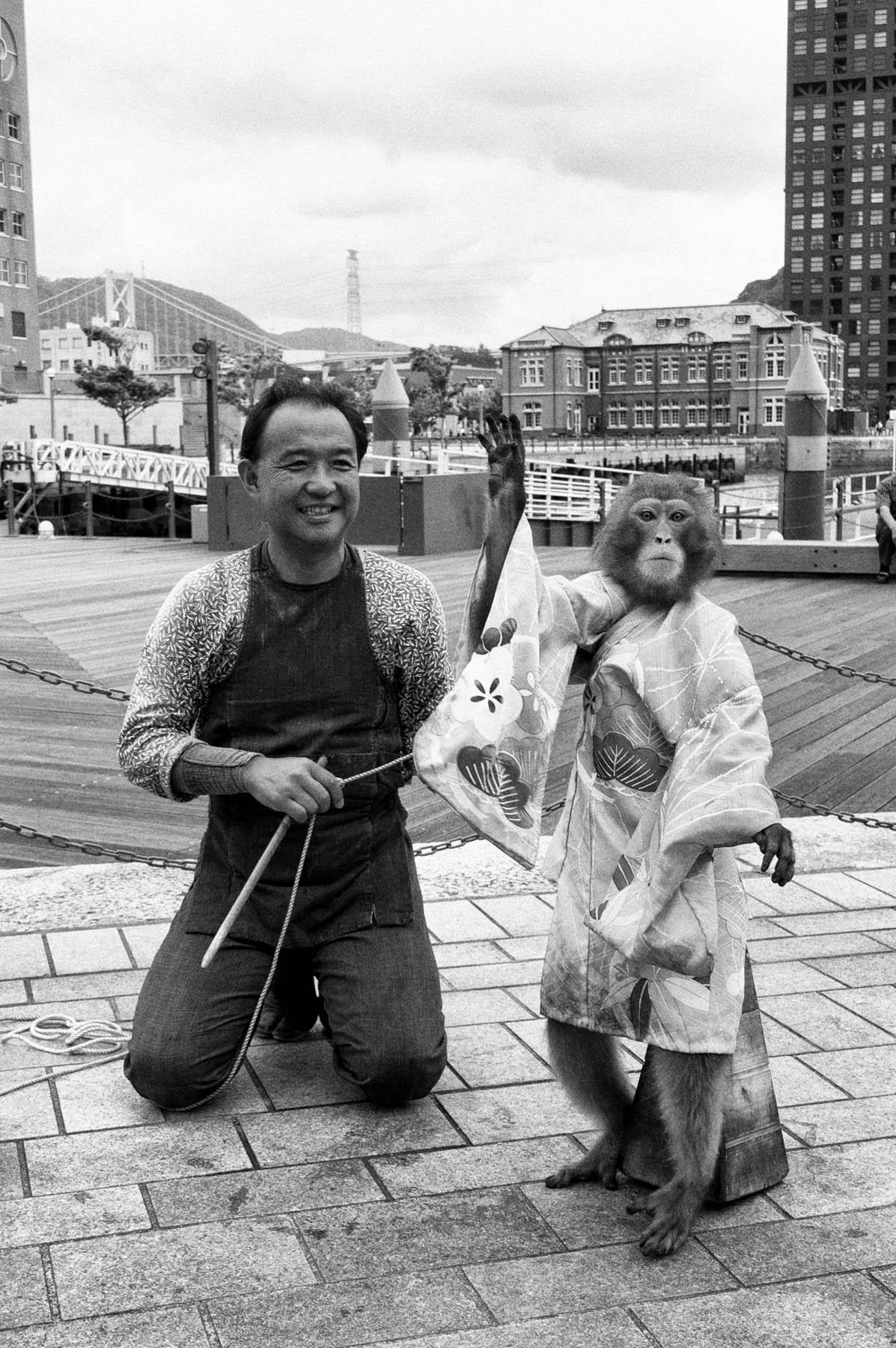 猿回し〜筑豊大介さん〜_c0028861_18232914.jpg