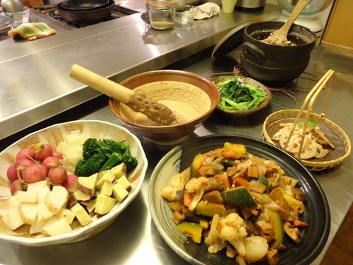 マクロビ料理を楽しもう! 〜お豆、お野菜編〜_c0148962_1221655.jpg