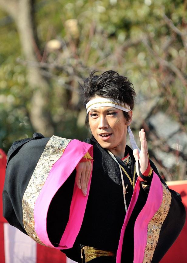 第14回吾妻さんよさこいパレード「銀輪舞隊」_f0184198_2371272.jpg