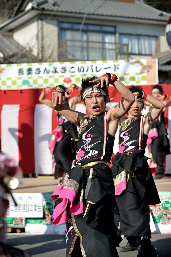 第14回吾妻さんよさこいパレード「銀輪舞隊」_f0184198_2372051.jpg
