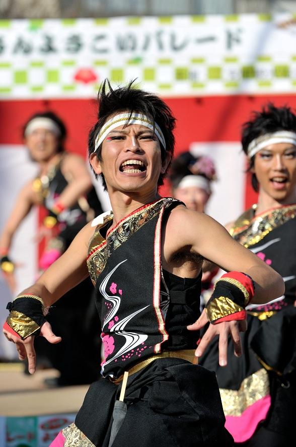 第14回吾妻さんよさこいパレード「銀輪舞隊」_f0184198_2372926.jpg