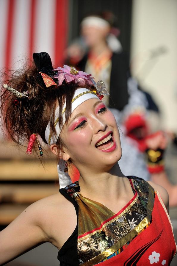 第14回吾妻さんよさこいパレード「銀輪舞隊」_f0184198_23739.jpg