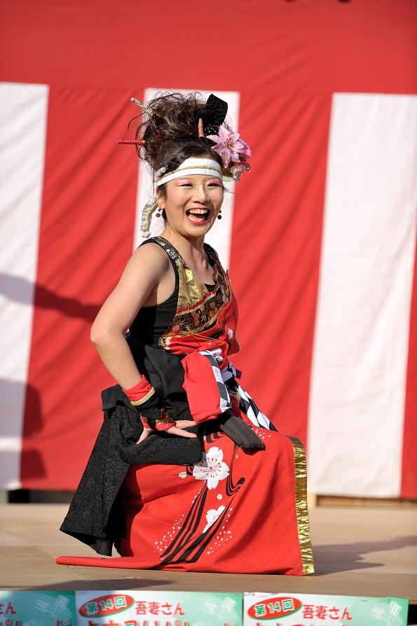 第14回吾妻さんよさこいパレード「銀輪舞隊」_f0184198_2373929.jpg