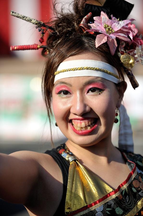 第14回吾妻さんよさこいパレード「銀輪舞隊」_f0184198_2381048.jpg
